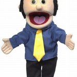 14-George-Peach-Dad-Businessman-Hand-Puppet-0