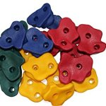 20-Large-Premium-Kids-Rock-Climbing-Wall-Holds-with-Hardware-Screws-for-Children-Outdoor-Playground-assorted-holds-and-bolts-by-Rock-Vein-0-1