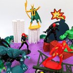 20-Piece-AVENGERS-FRIENDS-SUPER-HERO-Birthday-Cake-Topper-Set-Featuring-Avenger-Super-Hero-Crew-Characters-and-Decorative-Themed-Accessories-0-2