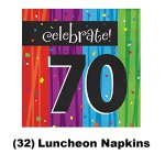 70th-Birthday-Party-Supply-Kit-for-16-guests-Bundle-Includes-Dinner-Plates-Dessert-Plates-Napkins-and-Birthday-Sash-0-1
