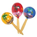 8-Inch-Genuine-Wooden-Hand-Painted-Party-Fiesta-Maracas-12-Pairs-24-Pieces-Per-Pack-0