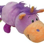 AS-SEEN-ON-TV-FlipaZoo-16-Plush-2-in-1-Pillow-Lavendar-Unicorn-Transforming-to-Pink-Dragon-The-Toy-That-Flips-For-You-0-0