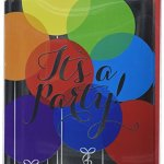 Amscan-Balloon-Large-Novelty-Invitation-Cards-Foil-6-x-4-Pack-8-Childrens-Party-32-Piece-0