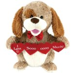 Animated-Puppy-Love-Plush-Dog-Stuffed-Animal-Sings-Sugar-Pie-Valentine-Gift-0