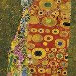 Artifact-Puzzles-Klimt-Hope-Wooden-Jigsaw-Puzzle-0