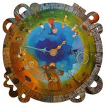 Artifact-Puzzles-Tomasz-Pietrzyk-Circle-of-Time-Wooden-Jigsaw-Puzzle-0