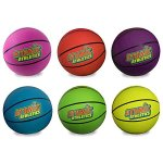 Atomic-Athletics-6-Pack-of-Neon-Rubber-Playground-Basketballs-Youth-Size-5-85-Balls-with-Air-Pump-and-Mesh-Storage-Bag-by-K-Roo-Sports-0-0