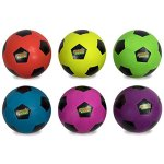 Atomic-Athletics-6-Pack-of-Neon-Rubber-Playground-Soccer-Balls-Regulation-Size-5-85-Balls-with-Air-Pump-and-Mesh-Storage-Bag-by-K-Roo-Sports-0-0