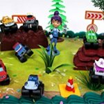 BLAZE-and-the-Monster-Machines-22-Piece-CAKE-Topper-Set-Featuring-12-Blaze-Figures-and-Decorative-Themed-Accessories-Figures-Average-1-to-2-Inches-Tall-0-0