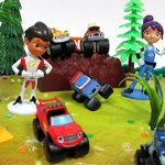 BLAZE-and-the-Monster-Machines-22-Piece-CAKE-Topper-Set-Featuring-12-Blaze-Figures-and-Decorative-Themed-Accessories-Figures-Average-1-to-2-Inches-Tall-0-2