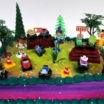 BLAZE-and-the-Monster-Machines-22-Piece-CAKE-Topper-Set-Featuring-12-Blaze-Figures-and-Decorative-Themed-Accessories-Figures-Average-1-to-2-Inches-Tall-0
