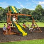 Backyard-Discovery-Weston-All-Cedar-Wood-Playset-Swing-Set-0-0