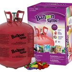 Balloon-Time-Disposable-Helium-Tank-149-cuft-50-Balloons-and-Ribbon-Included-by-Blue-Ribbon-0