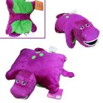 Barney-the-Dinosaur-12-x-12-Plush-Pillow-Friend-Doll-0