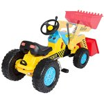 Best-Choice-Products-Kids-Pedal-Ride-On-Excavator-Front-Loader-Truck-0-0