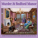 Bits-and-Pieces-1000-Piece-Murder-Mystery-Puzzle-Murder-at-Bedford-Manor-by-Artist-Gene-Dieckhoner-Solve-the-Mystery-1000-pc-Jigsaw-0-0