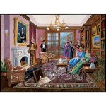 Bits-and-Pieces-1000-Piece-Murder-Mystery-Puzzle-Murder-at-Bedford-Manor-by-Artist-Gene-Dieckhoner-Solve-the-Mystery-1000-pc-Jigsaw-0