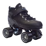 Black-Pacer-Mach-5-GTX500-Quad-Speed-Roller-Skates-w-2-Pair-of-Laces-Gray-Black-0-0