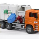 Bruder-Toys-Man-Side-Loading-Garbage-Truck-Orange-0-0
