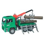 Bruder-Toys-Man-Timber-Truck-with-Loading-Crane-and-3-Trunks-0