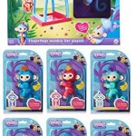 Bundle-7-Items-6-Fingerlings-Interactive-Pet-Baby-Monkey-and-1-Monkey-Bar-Playset-with-7th-Fingerling-0