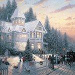 Ceaco-Thomas-Kinkade-Painter-of-Light-Victorian-Christmas-1000-Piece-Jigsaw-Puzzle-0