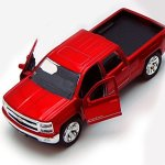 Chevy-Silverado-Pickup-Truck-Red-Jada-Toys-Just-Trucks-97017-132-scale-Diecast-Model-Toy-Car-0