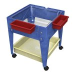 Childbrite-24-Sx-Tra-Deep-Clear-Tub-and-4-Casters-Blue-Frame-Mobile-Mite-0