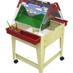 Childbrite-24-X-Tra-Deep-Clear-Tub-and-4-Casters-Sandal-Frame-Mobile-Mite-0