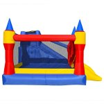 Cloud-9-Mighty-Bounce-House-Inflatable-Royal-Slide-Jump-Castle-with-Blower-0-1