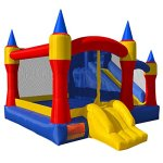 Cloud-9-Mighty-Bounce-House-Inflatable-Royal-Slide-Jump-Castle-with-Blower-0