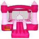 Cloud-9-Princess-Inflatable-Bounce-House-Pink-Castle-Theme-0-1