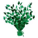 Club-Pack-of-12-Green-Foil-Spray-Graduate-Cap-Gleam-N-Burst-Centerpieces-15-0