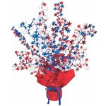 Club-Pack-of-12-Red-White-and-Blue-Star-Gleam-N-Burst-Centerpiece-Party-Decorations-15-0