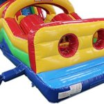 Commercial-Grade-50-Foot-Obstacle-Course-Bounce-House-Inflatable-0-0