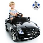 Costzon-Mercedes-Benz-SLS-Kids-Ride-On-Car-RC-Battery-Toy-Vehicle-wMP3-0