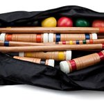 Crown-Sporting-Goods-Six-Player-Deluxe-Croquet-Set-with-Sturdy-Black-Carrying-Bag-0-0