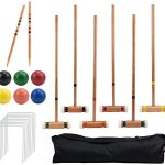 Crown-Sporting-Goods-Six-Player-Deluxe-Croquet-Set-with-Sturdy-Black-Carrying-Bag-0