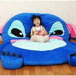 Cute-Cartoon-LiloStitch-Image-Sleeping-Bag-Sofa-Bed-Twin-Bed-Double-Bed-Mattress-for-Kids-0