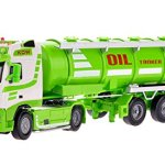 Damara-Boys-Large-Tanker-Truck-Model-Toy-Chrismas-GiftGreen-0