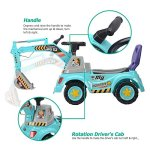 Digger-scooter-Ride-on-excavator-Pulling-cart-Pretend-play-construction-truck-color-may-vary-by-POCO-DIVO-0-0