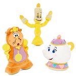 Disney-Beauty-and-the-Beast-Plushes-Cogs-Potts-and-Lumiere-0