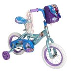 Disney-Frozen-12-inch-Bike-by-Huffy-Recommended-for-Ages-3-5-and-a-Rider-Height-of-37-42-inches-with-Fun-Graphics-of-Elsa-Anna-and-Olaf-Style-22235-0