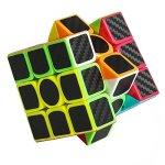 Dreampark-Speed-Cube-Bundle-5-Pack-2×2-3×3-Megaminx-Skewb-Pyramid-Carbon-Fiber-Sticker-Magic-Cube-Puzzle-Toy-Set-of-5-0-1