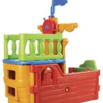 ECR4Kids-IndoorOutdoor-Buccaneer-Boat-with-Pirate-Flag-Play-Structure-for-Kids-0