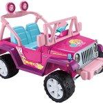 Fisher-Price-Power-Wheels-Barbie-Jammin-Jeep-Wrangler-0-2