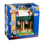 Fisher-Price-Thomas-Friends-Wooden-Railway-Deluxe-Over-The-Track-Signal-Battery-Operated-0-1