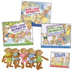 Five-Little-Monkeys-Books-And-Finger-Puppets-0