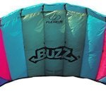 Flexifoil-145m-2-Line-Buzz-Power-Kite-with-90-Day-By-World-Record-Winning-Designer-of-2-line-and-4-line-Power-Kites-Safe-Strong-Reliable-and-Durable-Family-Outdoor-Activity-0