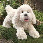 Folkmanis-Panting-Dog-Hand-Puppet-Plush-0-1